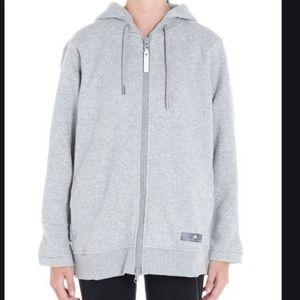 Adidas x Stella McCartney ESS Zip Up Gray Hoodie S
